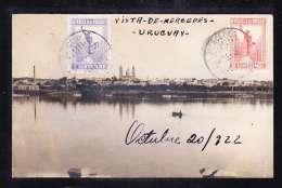 U-38 VISTA DE MERCEDES - Uruguay