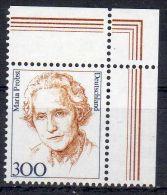 1997, Allemgane,  Maria Probst , YT No. 1788  Avec Coin, Neuf  ** , Lot 40423 - BRD