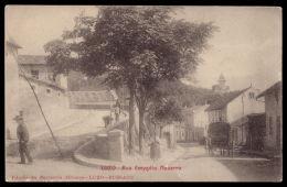 LUSO / MEALHADA / AVEIRO / PORTUGAL Postal Rua Emegdio/Emygdio Navarro. Old Postcard - Aveiro