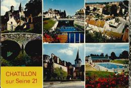 Chatillon Sur Seine - Eglise St Vorles, La Seine, église St Nicolas, Musée, Piscine -  Non écrite - Chatillon Sur Seine