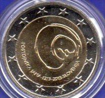 New 2€ Slowenien 2013 Stg 10€ Edition Höhlen Postojna Sonder-Münze 800 Jahre Höhlenzugang Stempelglanz Coin Of Slovenjia - Slovenia
