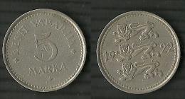 ESTLAND Estonia Estonie 1922 - 5 Marka - Estonie