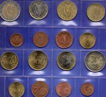 New EURO Irland 2002 Stg 18€ Prägeanstalt Dublin Im Stempelglanz Der Staatlichen Münze Ireland 1C.- 2€ Set Coins Of EIRE - Ireland