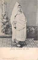 FEMME JUIVE EN COSTUME DE VILLE TUNISIE JUDAÏSME JUDAÏCA JEW JEWISH WOMAN ETHNOLOGIE ETHNIC PHOTO GARRIGUES - Judaisme