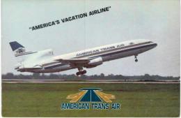 Thème -  Avion - American's Vacation Airline - American Trans Air - Lockheed L-1011 - 1946-....: Moderne