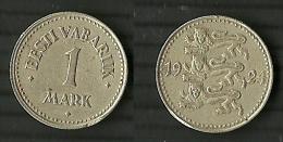 ESTLAND Estonia Estonie 1924 - 1 Mark - Estonie