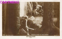 "FRITZ LANG "" SIEGFRIED "" 1926 PAUL RICHTER RUDOLF RITTNER DECLA UFA FILM "" DIE NIBELUNGEN "" VERLA ROSS DEUTSCHLAND - Film"
