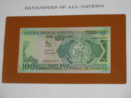 100 One Hundred - Central Bank Of VANUATU  - Billet Neuf - UNC  !!!  *** ACHAT IMMEDIAT *** - Vanuatu