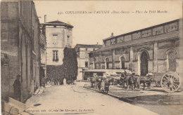 79 COULONGES SUR L AUTIZE  / PLACE DU PETIT MARCHE    ////    REF 2014 / JANV  674 - Coulonges-sur-l'Autize