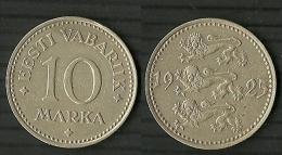 ESTLAND Estonia Estonie 10 Marka 1925 - Estland