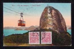 BR2-11 RIO PAO DE ASSUCAR CARRO AEREO - Rio De Janeiro