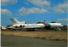 Thème -  Avion -  Aeronica Tupolev 154M  - Managua 1990 - 1946-....: Moderne