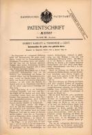 Original Patentschrift - Robert Ramlot In Dendermonde B.Gent , 1895 , Spinnmaschine , Spinnerei , Textilien , Termonde ! - Machines