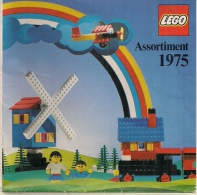 LEGO - CATALOGUE - ASSORTIMENT 1975. - Catalogs