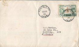 (939) FDC Cover Posted From Canada - 1955 - Scouts - Primi Giorni (FDC)