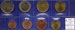 Beatrix Stempelglanz Niederlande EURO-set 2001 Stg 30€ Staatlichen Münze Prägeanstalt Den Haag 1C.-2€ Set Coin Nederland - Netherlands