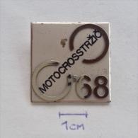 Badge / Pin (Motocross) - Yugoslavia Trzic World Championship 1968 - Motorbikes