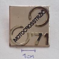 Badge / Pin (Motocross) - Yugoslavia Trzic World Championship 1971 - Motorbikes