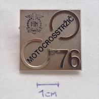 Badge / Pin (Motocross) - Yugoslavia Trzic World Championship 1976 - Motorbikes