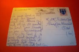 TIMBRE OBLITERATION FLAMME  ° COMBLOUX  14 03 1967 / CASCADE DE GLACE - Poststempel (Briefe)