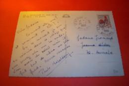 TIMBRE OBLITERATION FLAMME  ° SAINT  ETIENNE LE LAUS  LE 26 07 1966 - Marcophilie (Lettres)