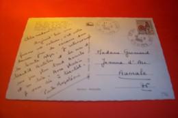 TIMBRE OBLITERATION FLAMME  ° SAINT  ETIENNE LE LAUS  LE 16 08 1965 - Marcophilie (Lettres)