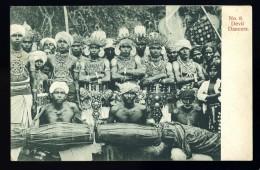 Cpa Sri Lanka Ceylon Ceylan  Devil Dancers No 8  ...    A3RK4 - Sri Lanka (Ceylon)