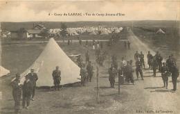 CAMP DU LARZAC VUE DU CAMP AVENUE D'IENA - Manovre