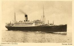 AK R.M.S. Carinthia Ca. 1930 (?) RMS Schiff Dampfer Ship Steamer Cunard Line - Paquebots