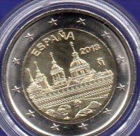 Spain Edition 2€ UNESCO-Weltkultur Escorial Spanien 2013 Stg 6€ Stempelglanz Münze Von Madrid Architectur Coin Of Espana - Monedas