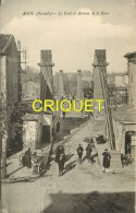 Cpa 34 Agde, Le Pont Et Avenue De La Gare, Carte Peu Courante - Agde