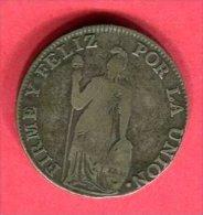 PEROU 4 REALES 1836  TB 32 - Pérou