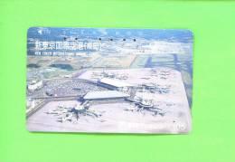JAPAN - Magnetic Phonecard/Aircraft/Aeropl Ane - Flugzeuge