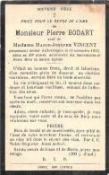 Pierre Bodart - Chevetogne 1915, Dans Sa 89e Année - V. Marie-Josephe Vincent - Décès