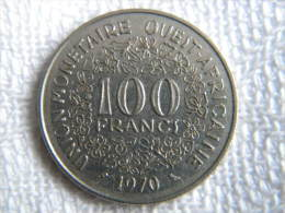 BCEAO - 100 FRANCS 1970. - Autres – Afrique