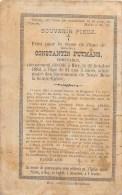 Constantin Putmans - Huy 1882, à L'âge De 31 Ans - Comptable - Décès