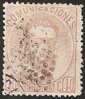 ESPAÑA 1872 - Edifil #124 - VFU - Usados