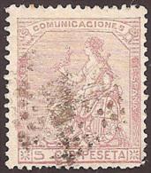 ESPAÑA 1873 - Edifil #132 - VFU - 1872-73 Reino: Amadeo I