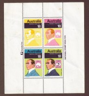 AUSTRALIA NATIONAL STAMP WEEK 1976 - Blocs - Feuillets
