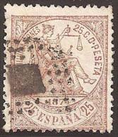 ESPAÑA 1874 - Edifil #147 - VFU - 1873-74 Regencia