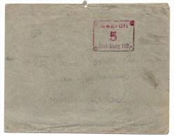 1940 - CACHET FRONT STALAG 190 (CHARLEVILLE - ARDENNES) Sur LETTRE DE PRISONNIER DE GUERRE Pour MOUTIER MALCARD (CREUSE) - Postmark Collection (Covers)
