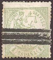 ESPAÑA 1874 - Edifil #150S Barrado - 1873-74 Regencia