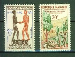 Semaine De L'arbre - MADAGASCAR - Jeux Sportifs De La Communauté - N° 351-354 ** - 1960 - Madagascar (1960-...)