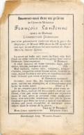 François Landenne - 1883, Dans Sa 51e Année - Ep. Lambertine Possogne - Décès