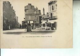 CP VILLERS S MER Place Du Bourg (dos Non Divisé) - Villers Sur Mer
