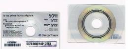 ITALIA - BLU (RICARICA GSM) - CAT. RICARICAT 7^ EDIZ. 6040 - DISCHETTO DIGITALE 50.000  -  USATA - Italia