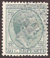 ESPAÑA 1878 - Edifil #196 - VFU - Usados