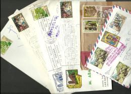 ANDORRA- LOTE DE CARTAS CIRCULADAS CORREO ESPAÑOL (N) - Lettres & Documents