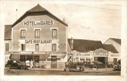 ARNAY LE DUC HOOTEL DES GARES - Arnay Le Duc