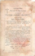 Philippe-Joseph Lecomte - Ronvaux-Chevetogne 1897, à L'âge De 87 Ans - V. De Marie-Josephe Quoilin - Obituary Notices